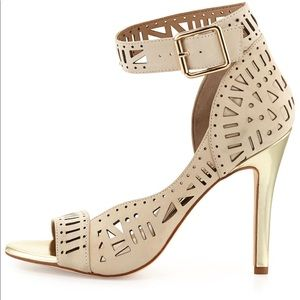 Nicole Miller Artelier Bali Leather Cutout Heel